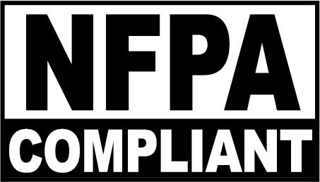 Complies with NFPA Code 30